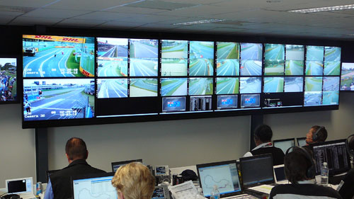 Matrox Video In Australian Grand Prix Race Control Room