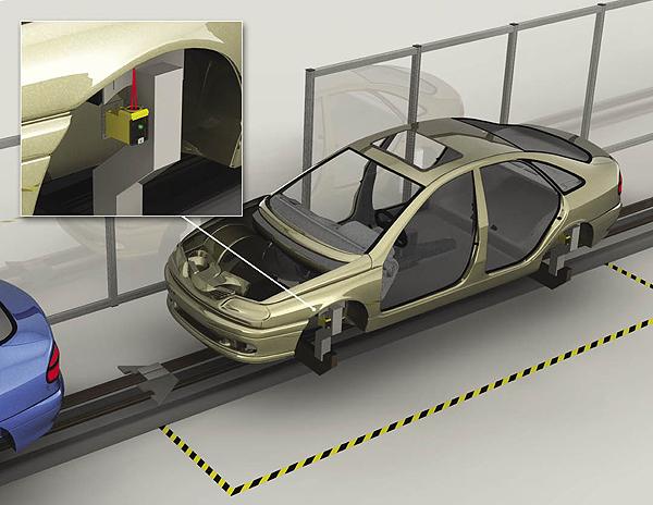Banner-Q45-Auto-Conveyor