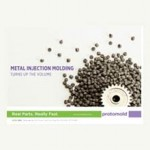 Low-alloy steel to metal injection molding