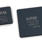 PCL61x4 series high-performance servo/stepper controller chips from Nippon Pulse