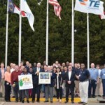 TE Connectivity plant wins environmental steward award