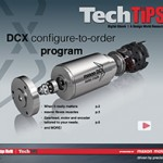 maxon DCX configure-to-order program Tech Tip