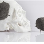 Additively manufacturing a cranial implant