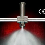 New no drip external mix atomizing nozzles positively stop liquid flow