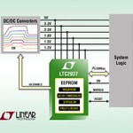 Programmable power supply sequencer, voltage supervisor handles six voltage rails