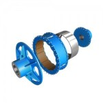Torque limiting coupling with slip detection