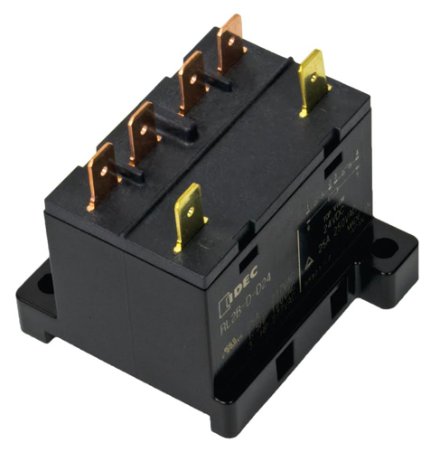 Idec Releases Rl High Current 30a Relay