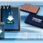 Single-Chip 15-W Wireless Power Receiver works with Qi v1.2