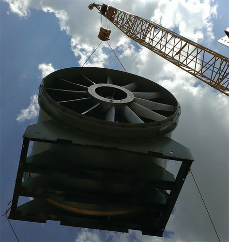 Axial Fans For Tunnels : Plc controls vertical wind tunnel simulating freefall
