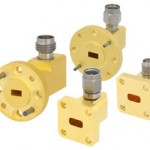 Waveguide-to-coax adapters span 65 GHz