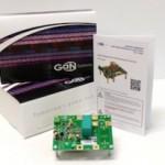 Half-Bridge eval board simplifies GaN transistor testing