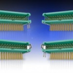 Horizontal Gecko connectors from Harwin increase design flexibility and reduce PCB stacking height