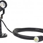 18 watt magnetically mounted handheld LED spotlight from Larson Electronics