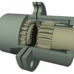 What role does torsional deflection play in gear couplings?