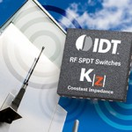 SPDT RF switch features low insertion loss