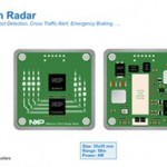 Highly integrated CMOS single-chip for postage stamp-sized radar sensors