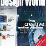 February 2016 issue: Creative motion solutions, selecting linear actuators, design notes + more