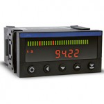 Bargraph panel meters feature programmability