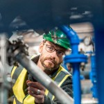 Hydraulic power plant efficiency