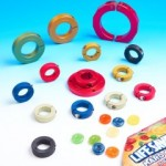 Multi-colored shaft collars and mounts