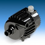 Maintenance free seal-less water circulation pump for heavy duty vehicle and transit applications