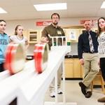 Phoenix Contact engineers visit the classroom