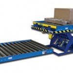 Conveyor material handling equipment keeps production rolling
