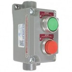 Explosion proof stop/start momentary switch