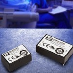 3, 6 & 15-W medical DC/DC converters offer low leakage current