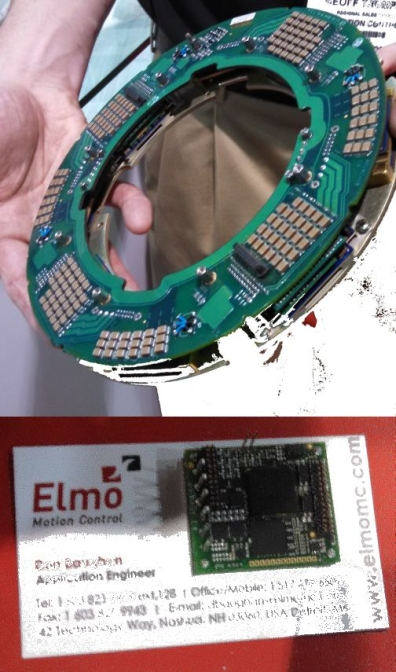 Xponential 2016 show will feature ultra high current ultra small servodrives Elmo motor controller