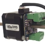 OMD18 stepper motor drive and controller mounts easily
