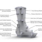 3D printed cast mends bones and plays music