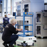 Robots save employees 1,000 miles walking annually
