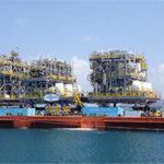 Moving modules for Brazilian oil