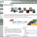 TB Wood's Sure-Flex Plus Couplings for ANSI Centrifugal Pump Packages