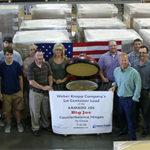 First Vectis Shipment sent to China for Kamado Joe Assembly