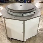 Chassis system drives 24-station medical assembly