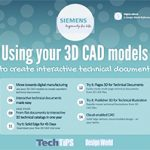 Using your 3D CAD models to create interactive technical documents