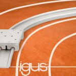 New curved linear guides for variable radii from igus