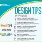 Design Tips from Proto Labs Tech Tips