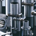 Flange bushings eliminates bulky housings (and deliver smooth linear motion)