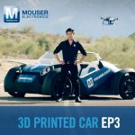 3D printed car also launches drones