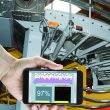 Smart edge devices with embedded HMI software, such as InduSoft's IoTView, can be monitored by a smartphone or tablet. courtesy of AutomationDirect