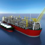 Bearings bear the weight of largest offshore facility