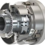 Disengaging torque limiter with automatic re-engagement from Mayr