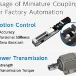 Dual purpose of miniature couplings:motion control and power transmission