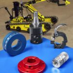 Shaft collars and couplings meet special robot design requirements