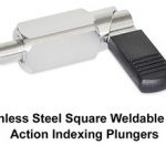 J.W. Winco Now Offers Stainless Steel Square Weldable Cam Action Indexing Plungers