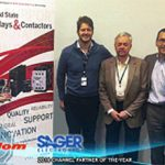Crydom Honors Sager Electronics with Second Consecutive Channel Partner of the Year Award