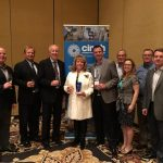 Cinch Connectivity Solutions Recognizes Aeroflite Enterprises Inc. with President's Award at Electronics Distribution Show (EDS)